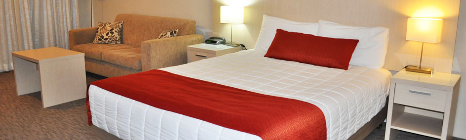 The Acacia Motor Lodge is renowned for its spacious rooms and central located